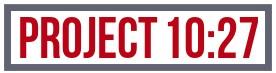 Project 10:27 Logo